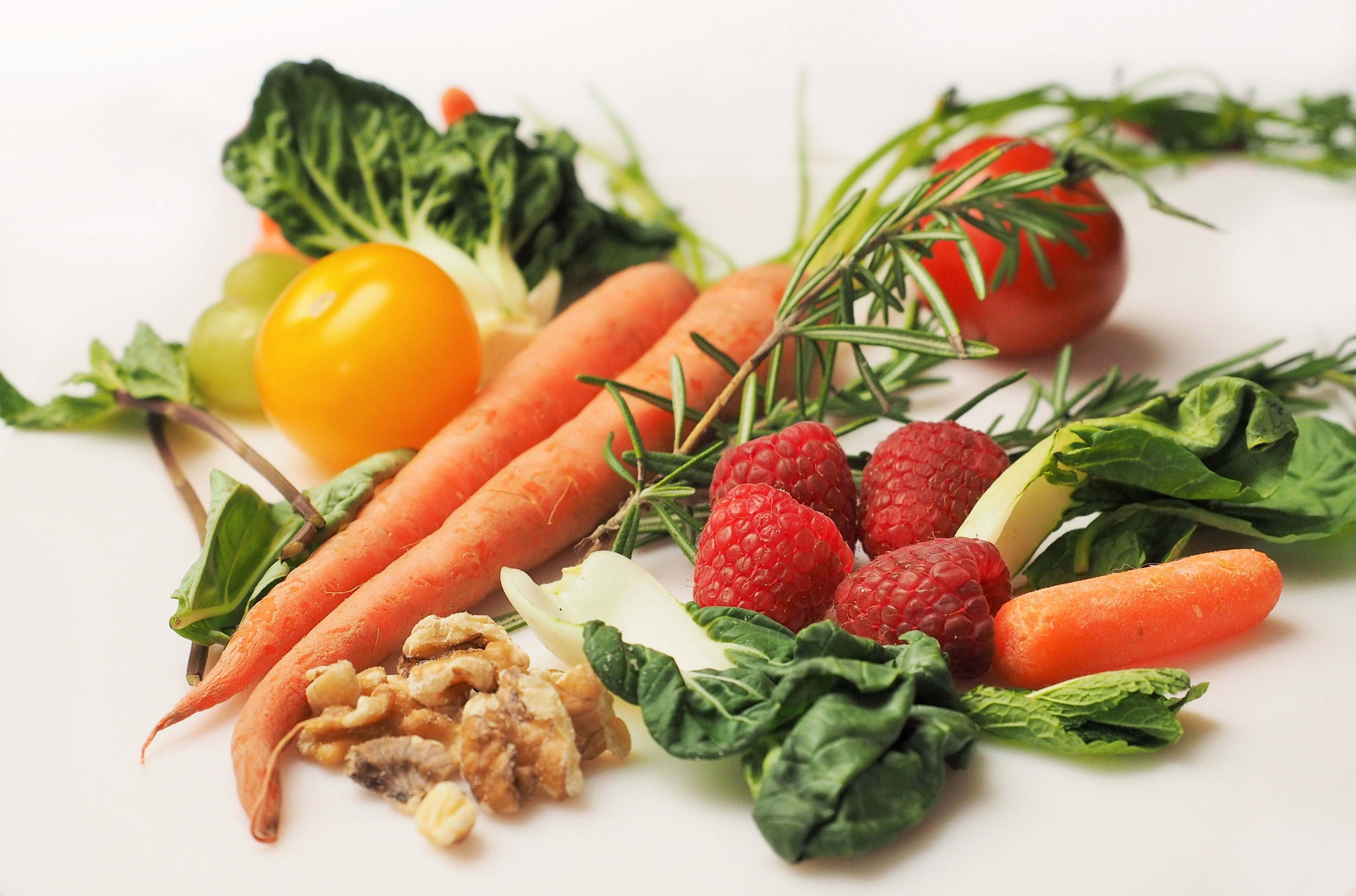 Carrots Tomatoes Vegetables and Other Fruits