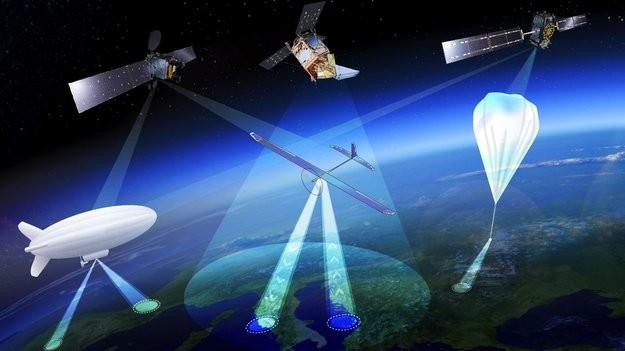 High Altitude Pseudo Satellites Large