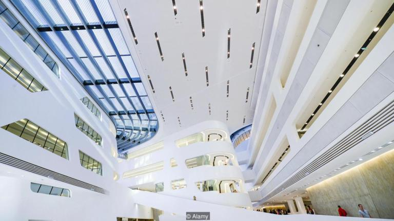 Library and Learning Centre, University of Vienna, Austria (Credit: Credit: Alamy)