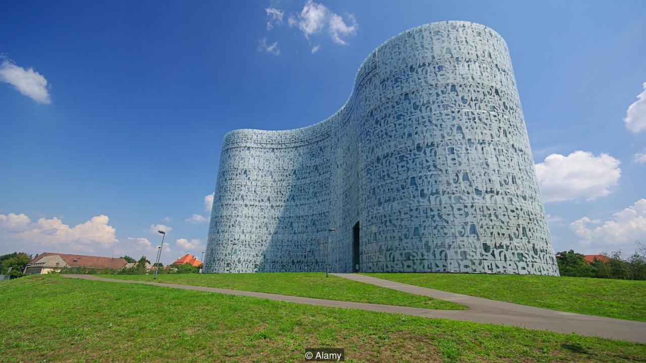 Brandenburg University of Technology Library, Cottbus, Germany (Credit: Credit: Alamy)