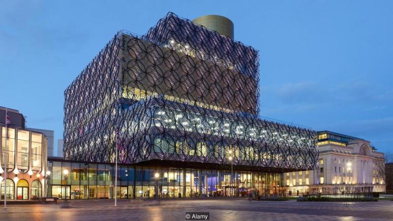 Library of Birmingham, UK (Credit: Credit: Alamy)