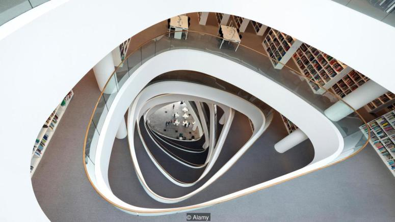 Sir Duncan Rice Library, University of Aberdeen, UK (Credit: Credit: Alamy)