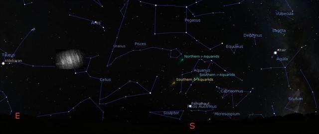 Se confirma que alrededor de la Tierra orbitan dos nubes de polvo estables cual satélites