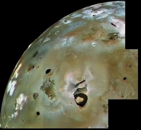 Imagen de Loki Patera tomada por el Voyager 1