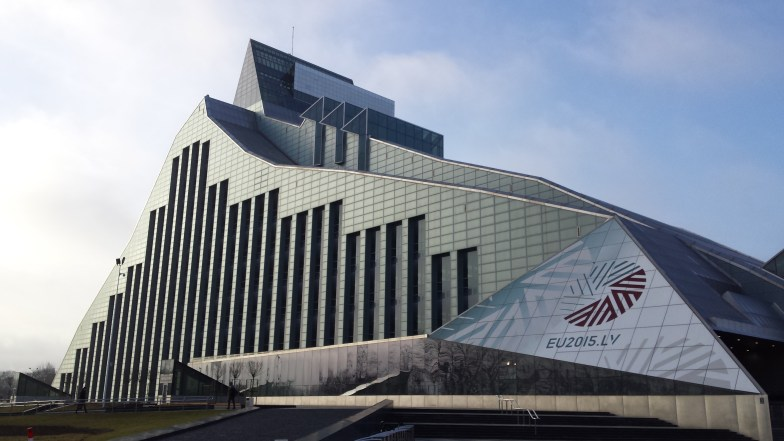 Resultado de imagen para national library riga letonia