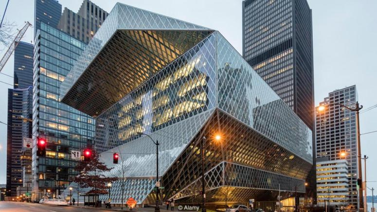 Seattle Central Library, US (Credit: Credit: Alamy)