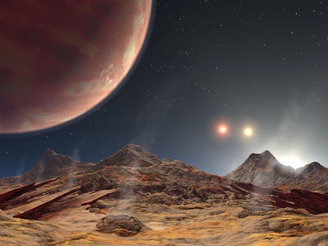 En el cielo de este planeta recién descubierto brillan tres soles