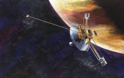 La primera nave que llegará a las proximidades de una estrella será Pioneer 10