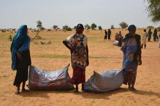 Distribución de emergencia en Níger de Acción contra el Hambre
