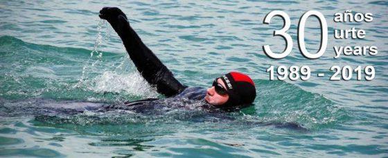 Carlos Peña: 30 años de natación extrema y solidaria