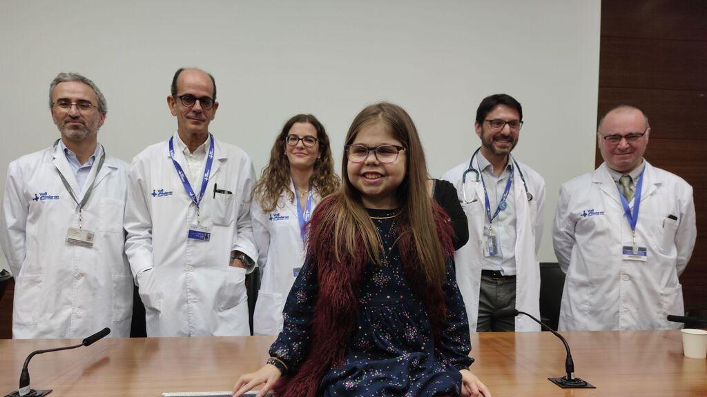 Iria, la primera persona española con triple trasplante de corazón, riñón e hígado