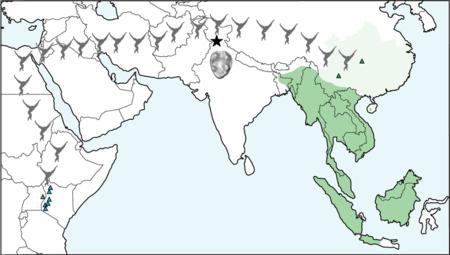 Map Of Gibbon Migration