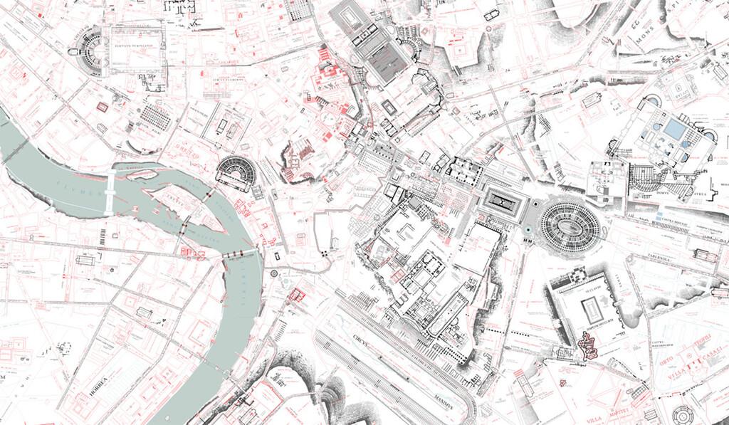 Este es el mapa urbano más grande y tiene casi dos mil años de antigüedad