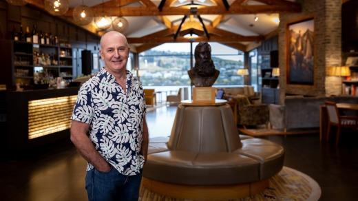 Mark Rose, director ejecutivo de The Rees Hotel en Queenstown: