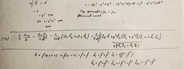 Salen a la luz un puñado de páginas escritas por Albert Einstein